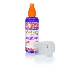 Спрей-лосьон от комаров до 4 часов защиты, репеллентный, 100 мл