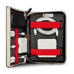Сумка Twelve South BookBook CaddySack для мобильных и аксессуаров, кожа