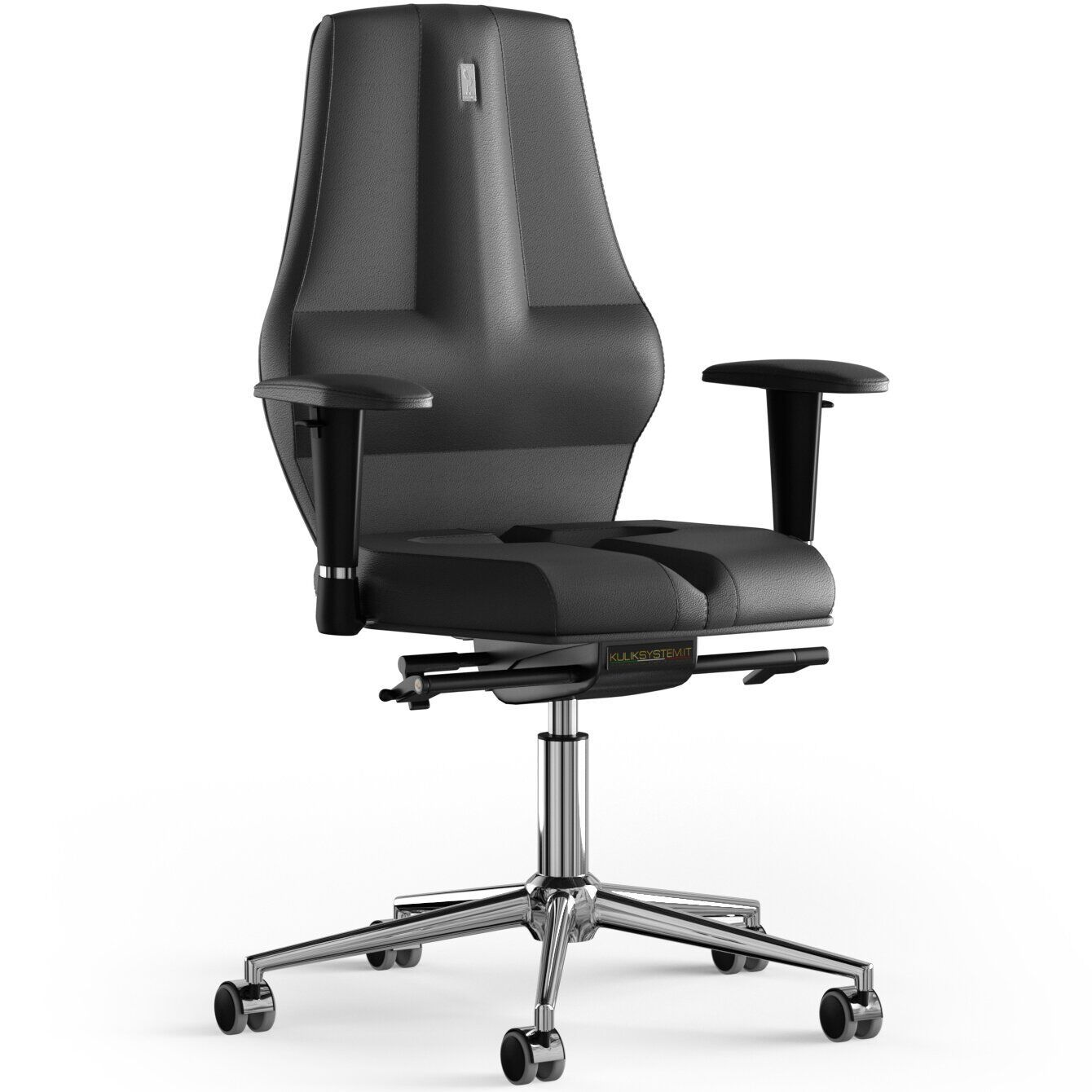 Кресло KULIK SYSTEM NANO Кожа без подголовника без строчки