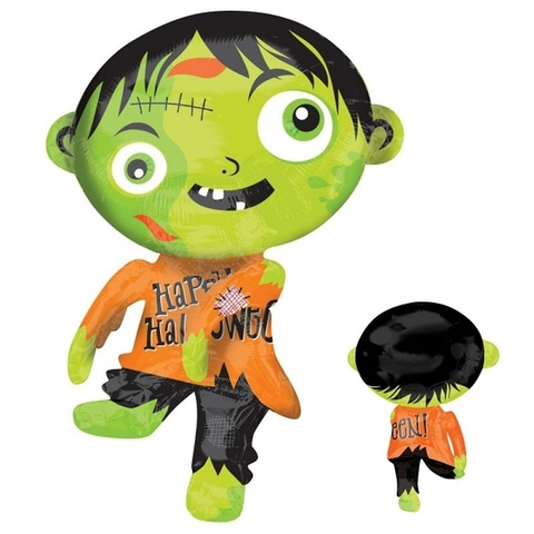 Зеленый зомби