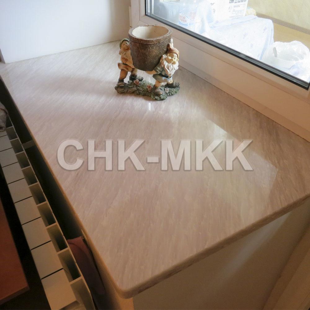 Фото подоконника из Саянского мрамора