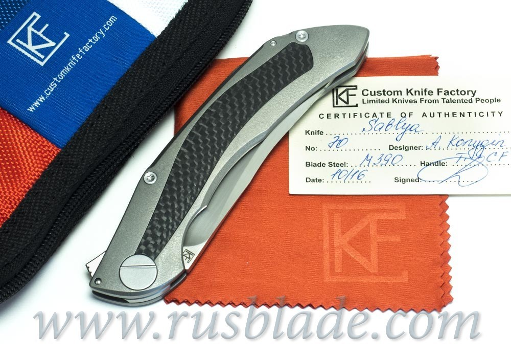 CKF Sablya Knife