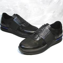Мужские кроссовки на каждый день Luciano Bellini 1087 All Black