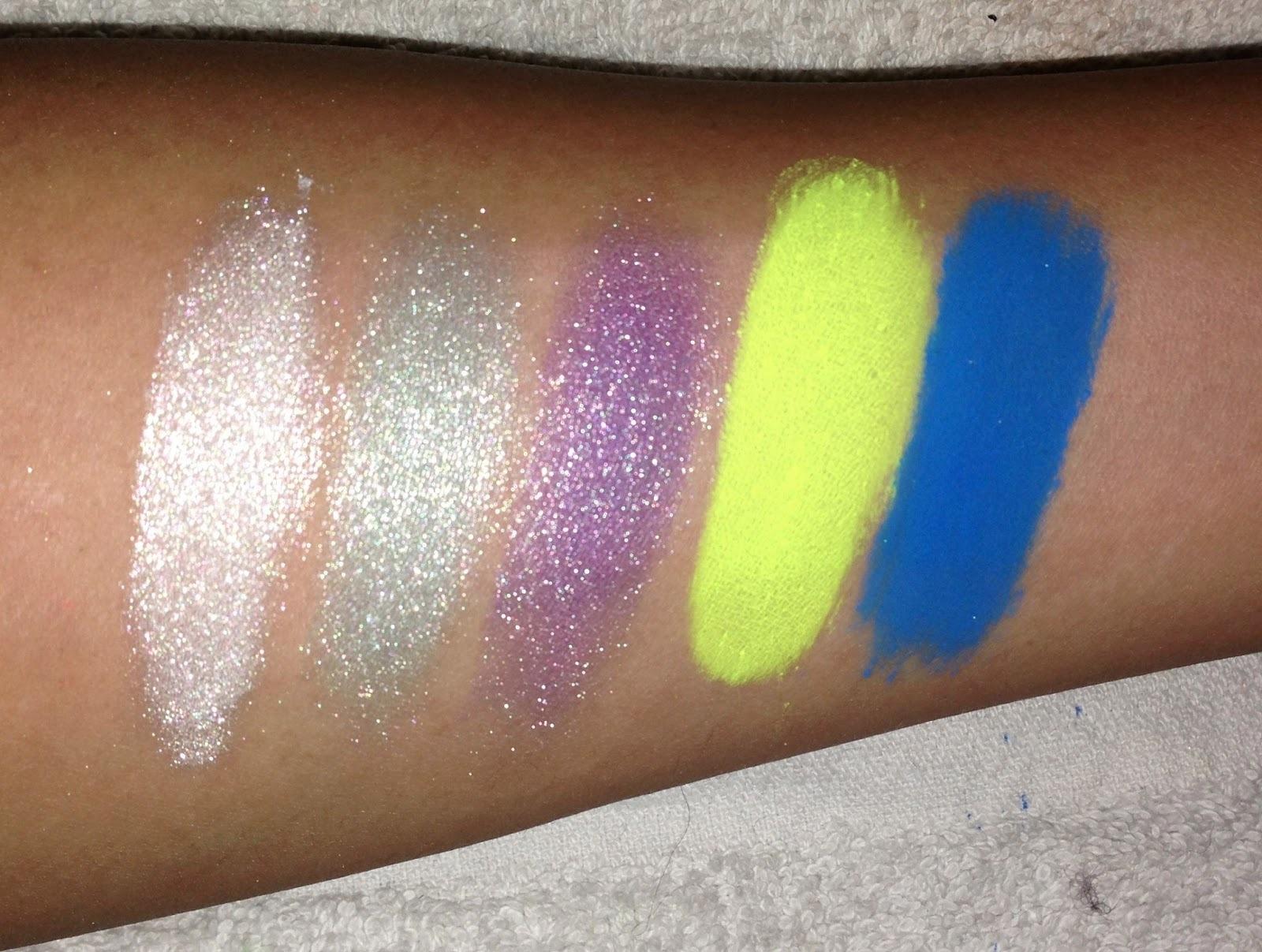 MYO All Ultra Bright Matte Eyeshadow 10 Pigment Set