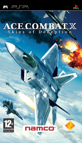 Ace Combat X Skies of Deception (PSP, русская версия, б/у)