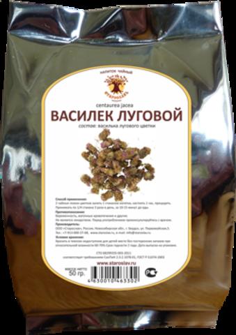 Василек луговой (цветки, 50гр.) (Старослав)
