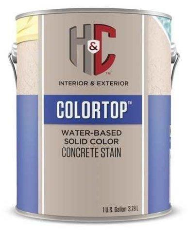 H&C Color Top лак-пропитка на водной основе