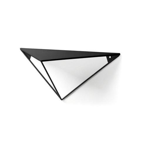Настенная полка Upp металлическая треугольная