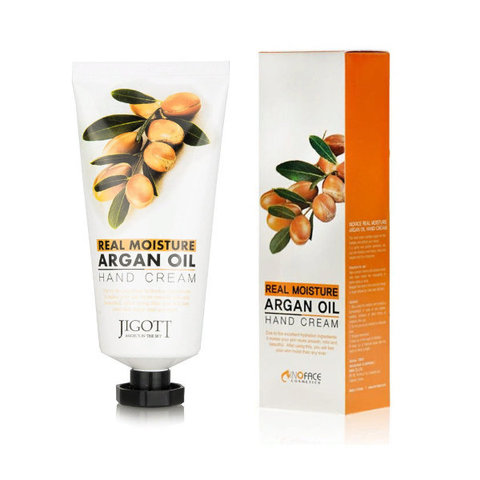 Крем для рук с аргановым маслом Jigott Real Moisture Argan Oil 100 мл