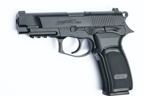 Пистолет пневматический ASG BERSA THUNDER 9 PRO пластик/черный  (артикул 17302)