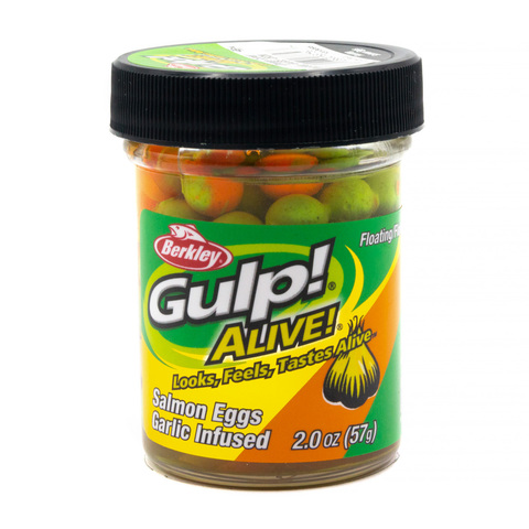 Приманка силиконовая Berkley Gulp! Alive!  Floating Salmon Eggs Orange Comet (1313095) Имитация икры