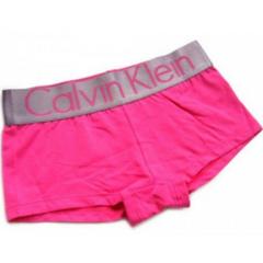 Женские трусы боксеры розовые Calvin Klein Women Boxer Pink