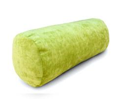 Подушка диванная валик Зеленая