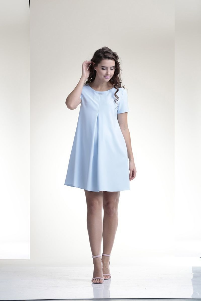Фото платье для беременных Mama i Ja от магазина СкороМама, голубой, размеры.