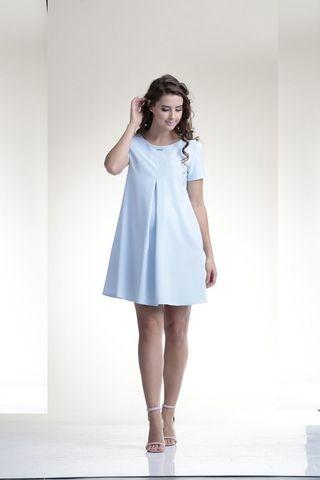 Платье для беременных 06149 голубой