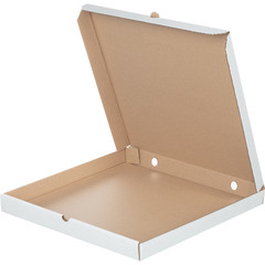 Коробка для пиццы 420х420х40 мм Т-23 беленый (10 штук в упаковке)