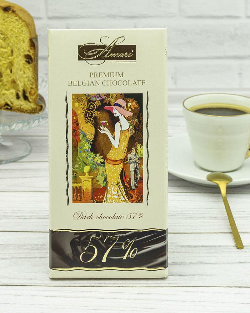 Темный Шоколад Ameri 57% 100 гр.