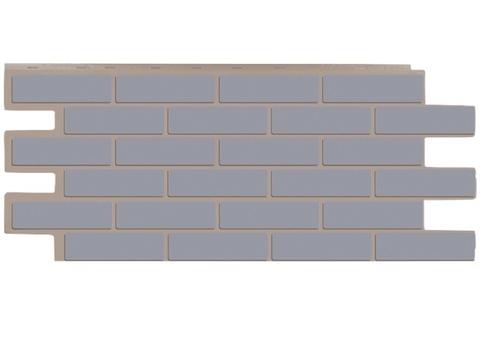 Фасадная панель Керамит - Серый