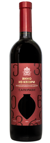 Вино САПЕРАВИ КВЕВРИ ТЗ Усадьба Перовских