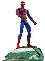 Марвел Селект фигурка Человек паук на разбитом автомобиле