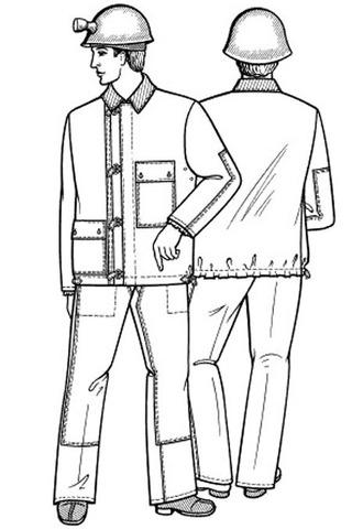 Выкройка костюма