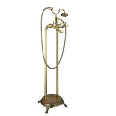 Смеситель для ванны напольный Timo Nelson 1900/02Y-CR antique фото
