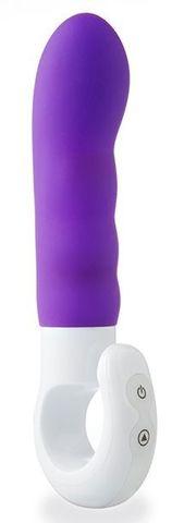 Фиолетовый вибромассажер IMPULSE - 16,5 см.