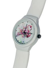 Часы наручные Фламинго № 1 белые