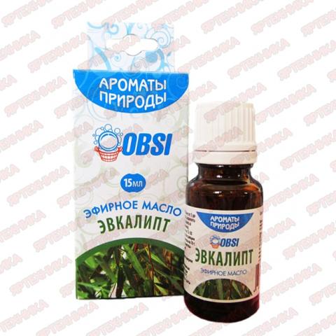 Масло эфирное ЭВКАЛИПТ 15мл в интернет-магазине ЯрТехника