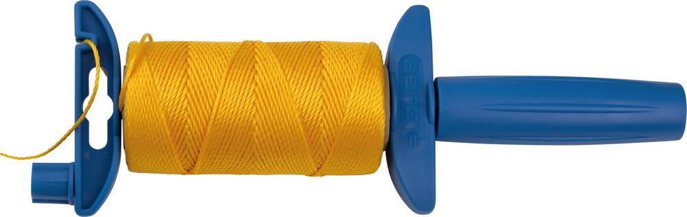 Шнур ЗУБР нейлоновый, для строительных работ, сменная шпуля, на катушке, 100м