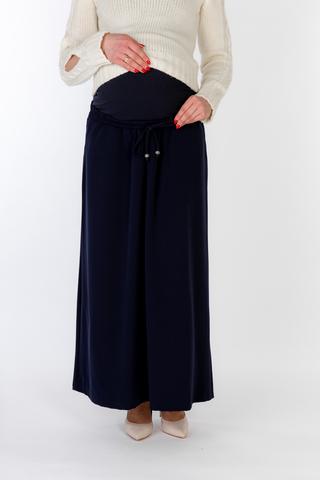 Юбка для беременных 07759 синий