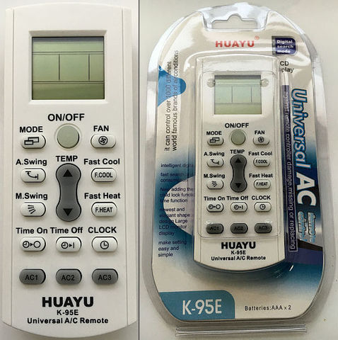 Универсальный пульт для кондиционера K-95Е
