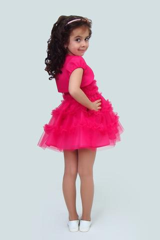 Платье детское + болеро (артикул 1Н56-6)