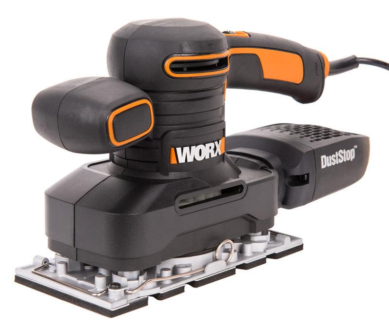 Виброшлифмашина WORX WX641, 250Вт