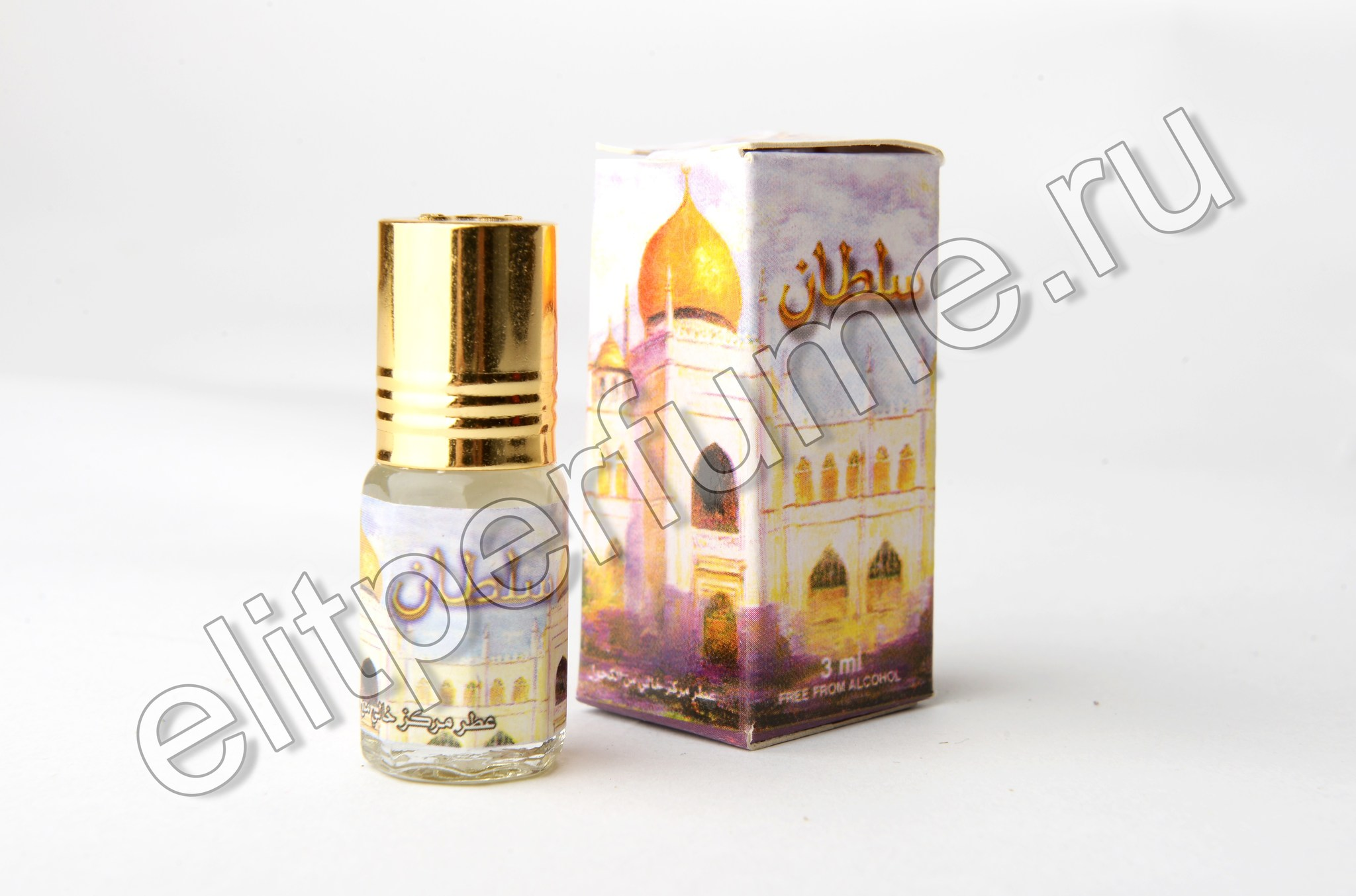 Sultan 3 мл арабские масляные духи от Захра Zahra Perfumes