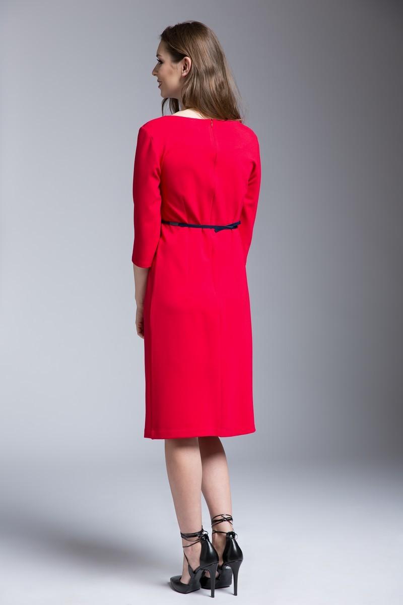 Платье для беременных 06178 красный