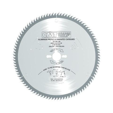 Диск пильный 190x30x2,8/2,2 -6° TCG Z=64 CMT 296.190.64M