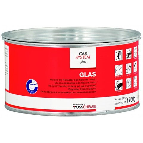 Car System Шпатлевка Glass  1.8kg 127974