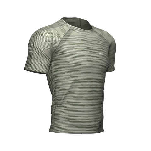Футболка Training Camo Stripe Сланцевый Зеленый