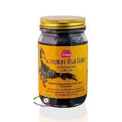 Черный Королевский Бальзам с ядом Скорпиона, Scorpion Black Balm, Banna