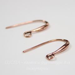 Швензы - крючки, 20х11 мм (цвет - античная медь), пара