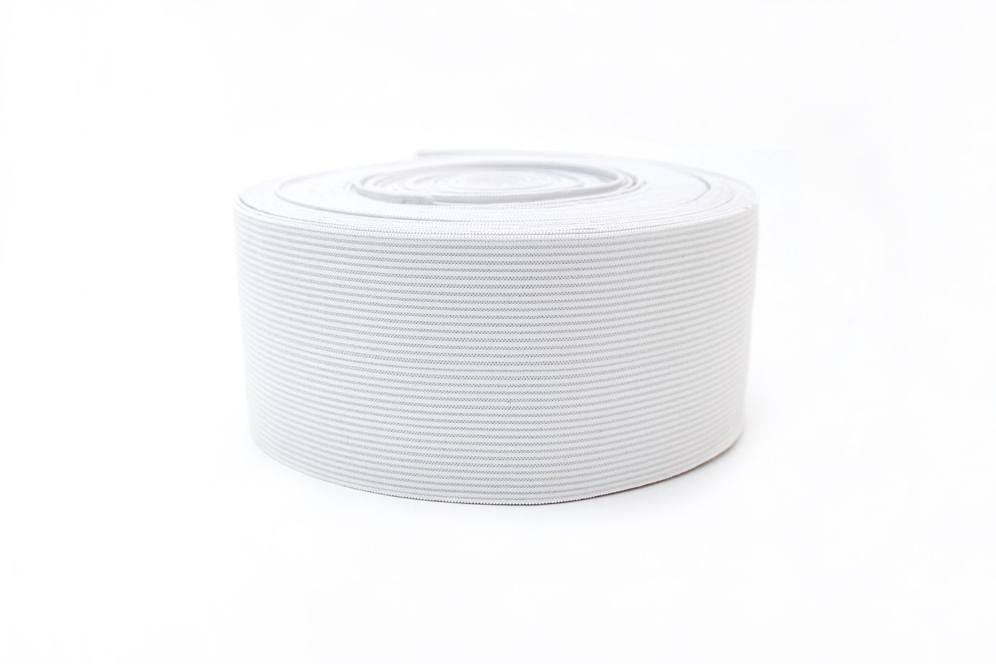 Резинка белая,6 см
