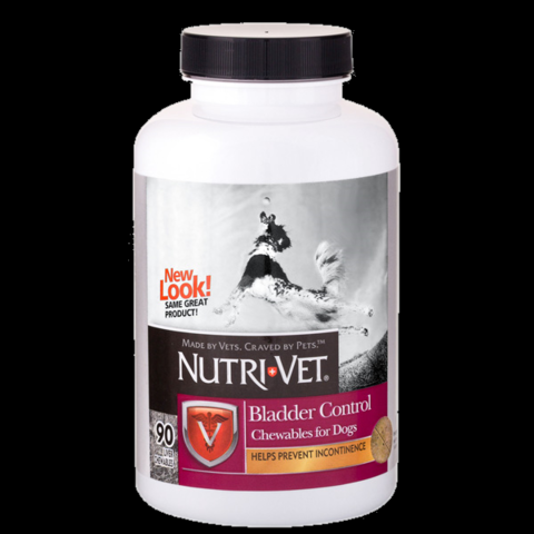 Nutri-Vet Bladder Control. Контроль сечового пузиря добавка для собак.