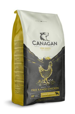 Сухой корм Canagan Grain Free Free-Run Chicken для собак крупных пород