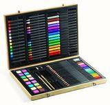 Djeco. Большой художественный набор: карандаши, фломастеры, краски