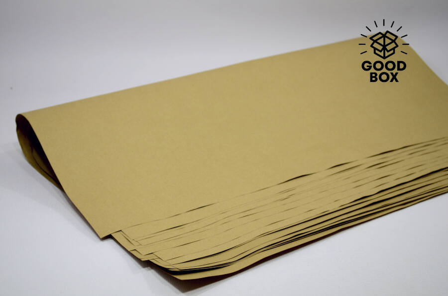 Оберточная бумага крафт цвета