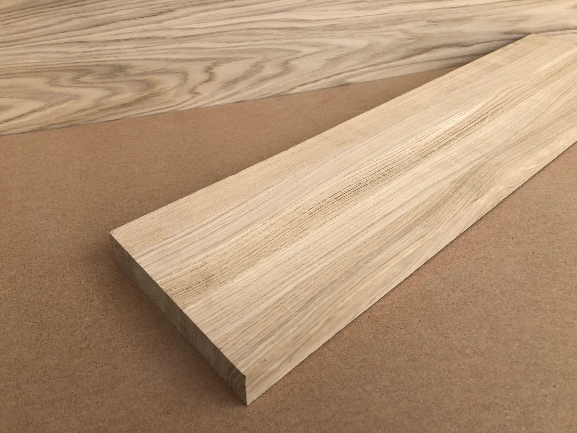 Мебельный щит из ясеня (цельноламельный, Дальневосточный) 40х600х2600 мм