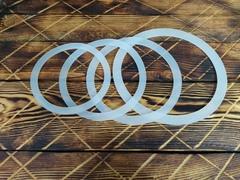 Набор силиконовых прокладок для афганского казана 10л, 12л, 15л и 20л, 2шт