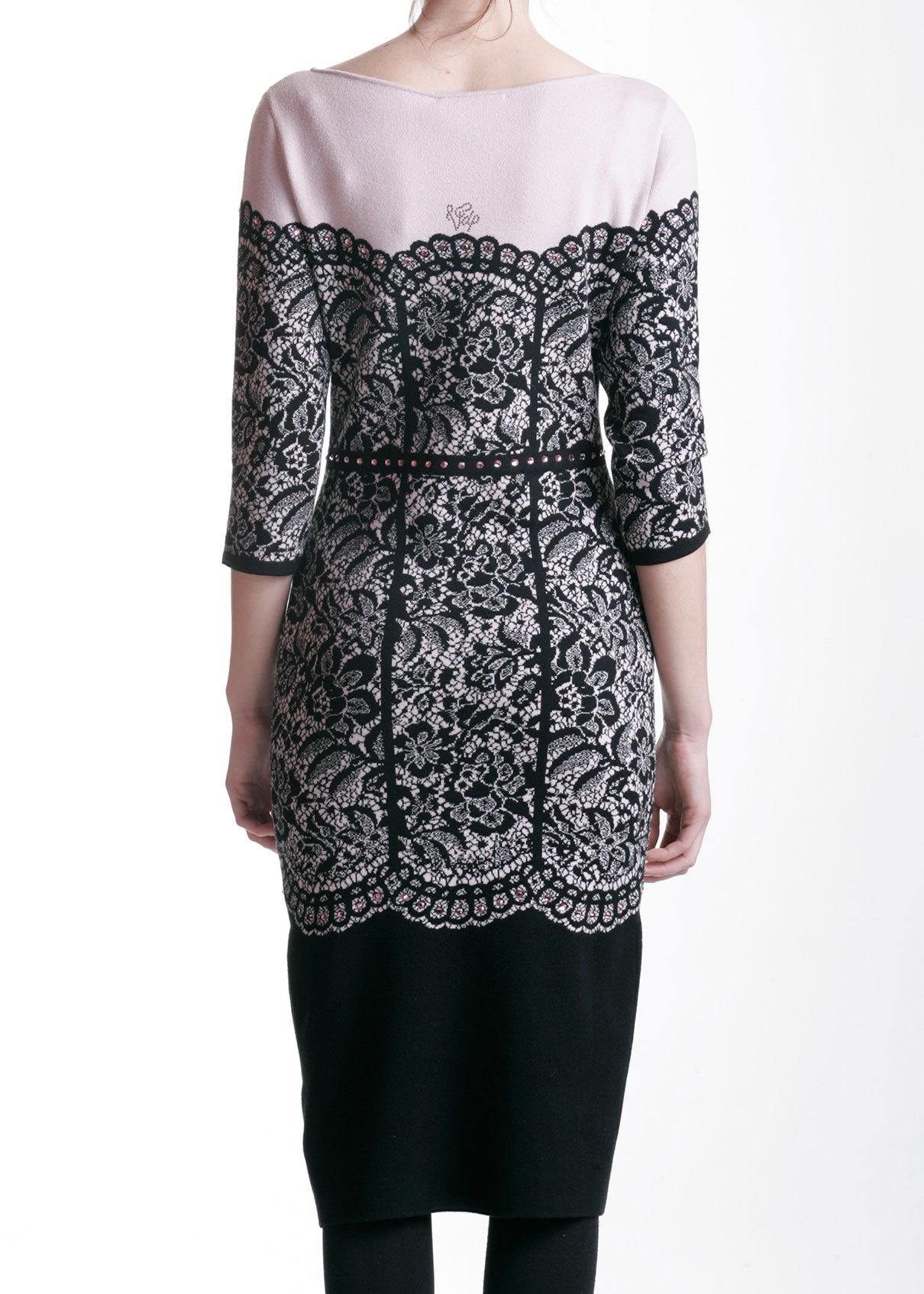 Платье из вискозы и шерсти VDP