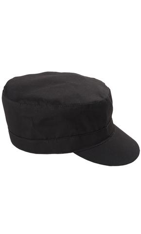 Кепка на застёжке черная